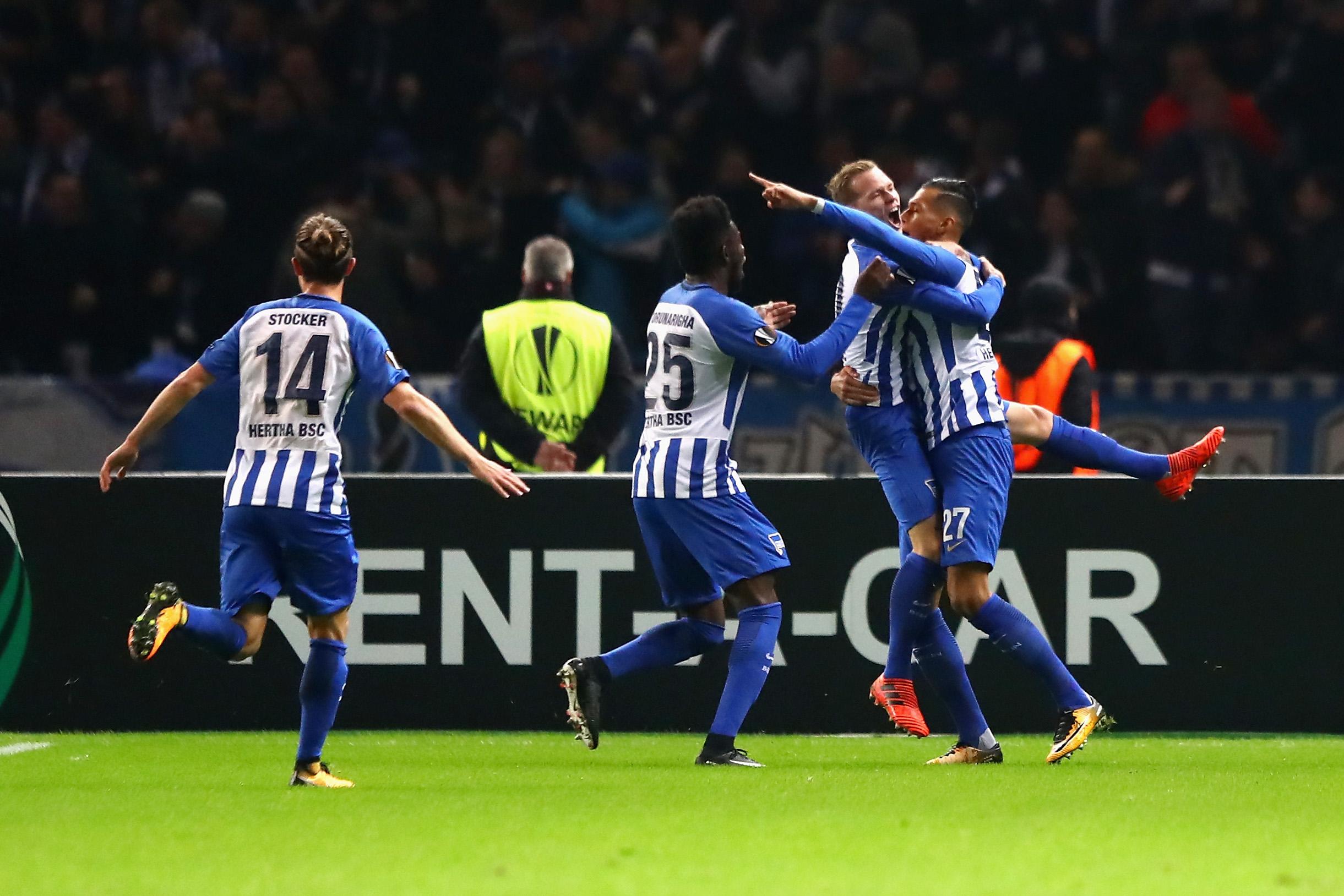 europa league hertha bsc