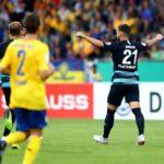 Hertha schlägt tapfere Braunschweiger mit 2:1
