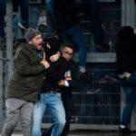 Krawalle in Rom: Rund ein Dutzend Eintracht-Fans festgenommen