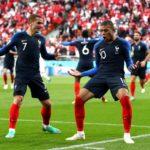 Frankreich nach 1:0 gegen Peru im Achtelfinale