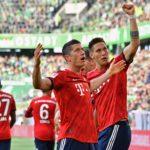 Bayern nach 3:1-Erfolg in Wolfsburg erster BVB-Verfolger