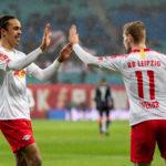Poulsen und Werner halten Leipzig auf Kurs